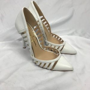 Jessica Simpson | 6.5 Tacie d'Orsay Cut Out Heels